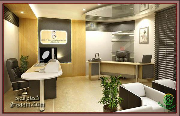 صورة ديكور مكتب عمل افضل شيء في اقبالك على تزيين مكتبك