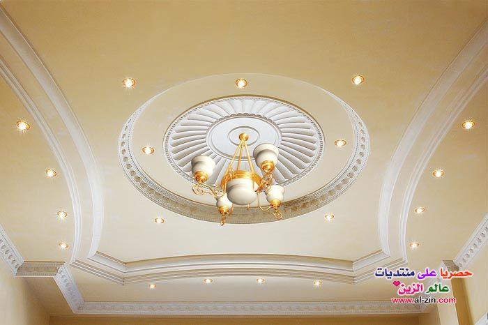 صورة اجمل اسقف الجبس ديكورات اسقف جبس محل اهتمام كل شخص