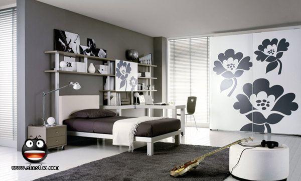 صور ديكورات غرف نوم شباب كول