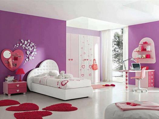 صور ديكورات غرف نوم للصبايا خقق