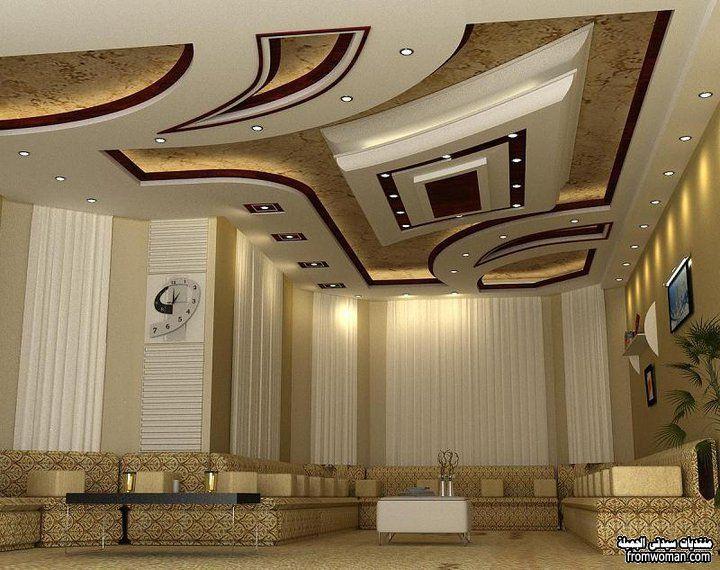 صورة ديكورات اسقف صالونات