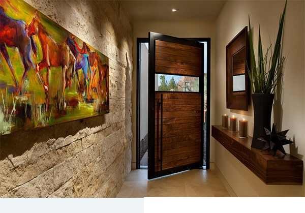 صورة احدث ديكورات جبس 2020 اظهار العنصر المعماري للغرفة وطبقة اللون