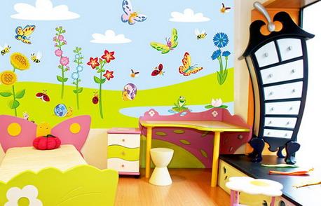 صور ورق جدران غرف الاطفال