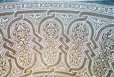 صور ديكورات نقش جبس حيث يعتبر من الفنون القديمة والاصيلة
