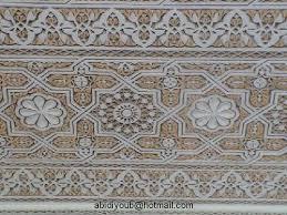 صورة ديكورات نقش جبس حيث يعتبر من الفنون القديمة والاصيلة