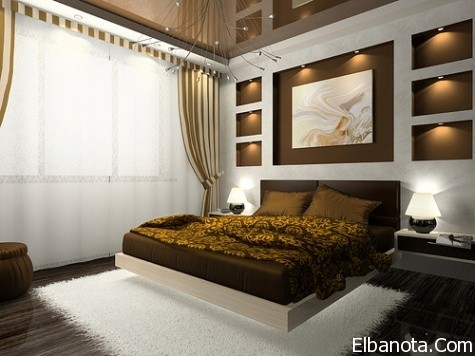 بالصور ديكورات غرف النوم بالصور زخارف والوان تلهم الاسترخاء 2546 3