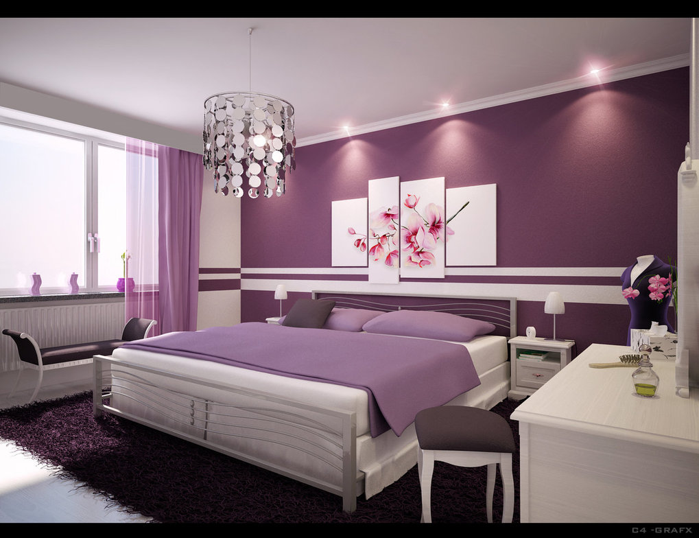 صورة ديكورات غرف النوم بالصور زخارف والوان تلهم الاسترخاء