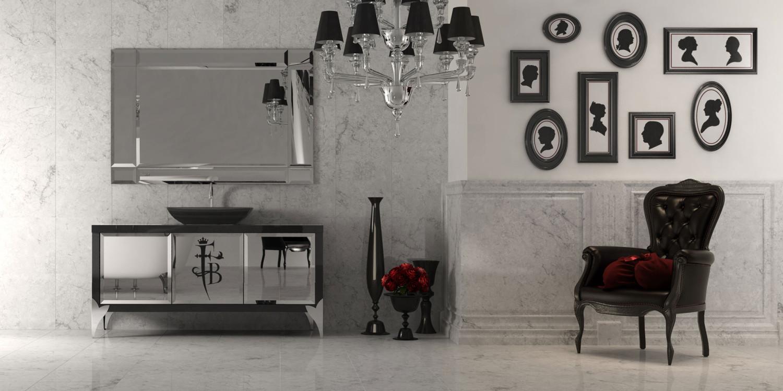 صور التصميم الحديث للحوض وغرفة الاستحمام