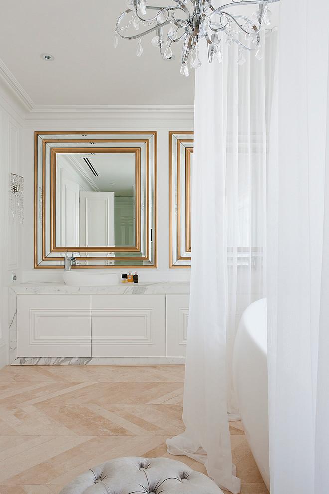 صور ستائر حمام وثريا كرستال روعة الاختيار