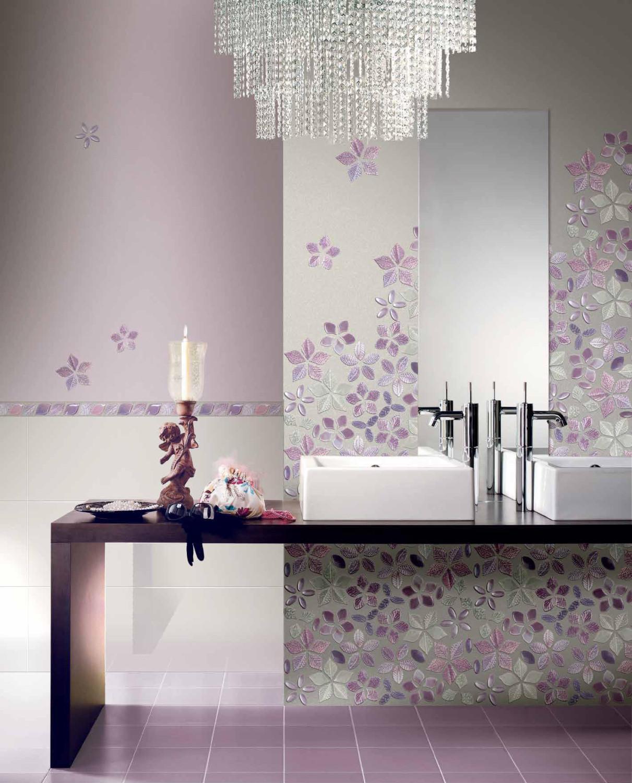 صور تصميم حوائط الحمام عنصر اساسي في تحديد اناقته وجمال مظهره
