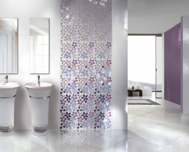 بالصور تصميم حوائط الحمام عنصر اساسي في تحديد اناقته وجمال مظهره 31609 2
