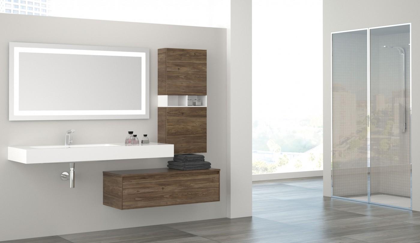صور ديكورات الخشب الطبيعي للاستخدام في الحمام قمة الجمال