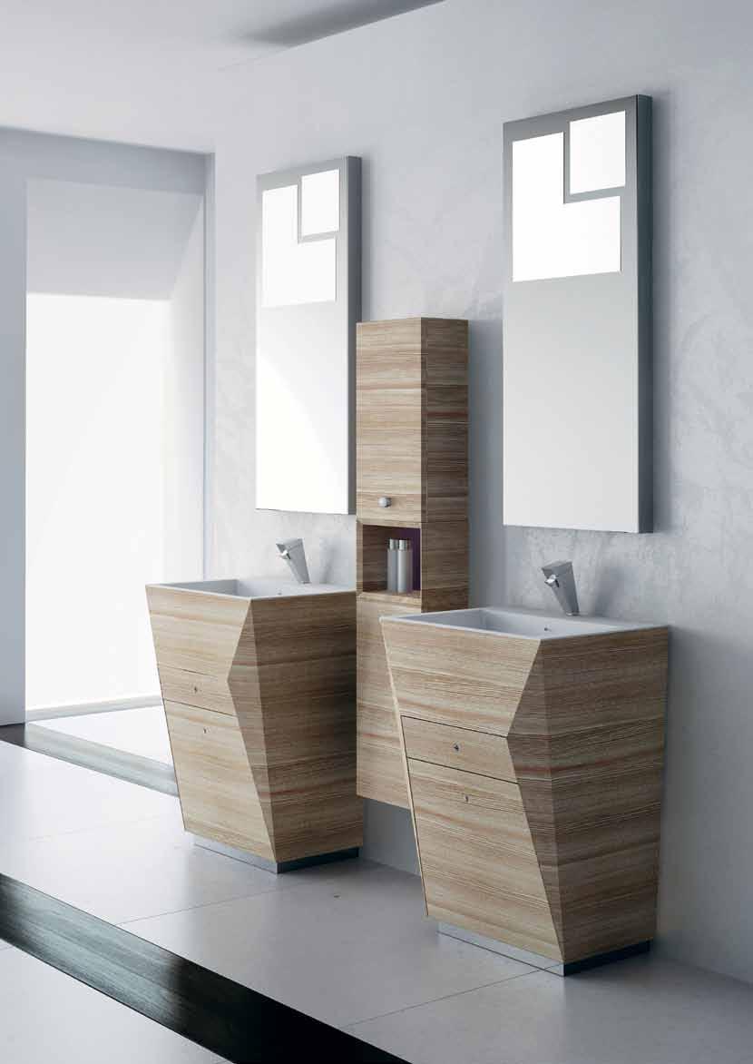 صورة استخدام اكثر من حوض للغسيل في الحمامات مثل الفنادق