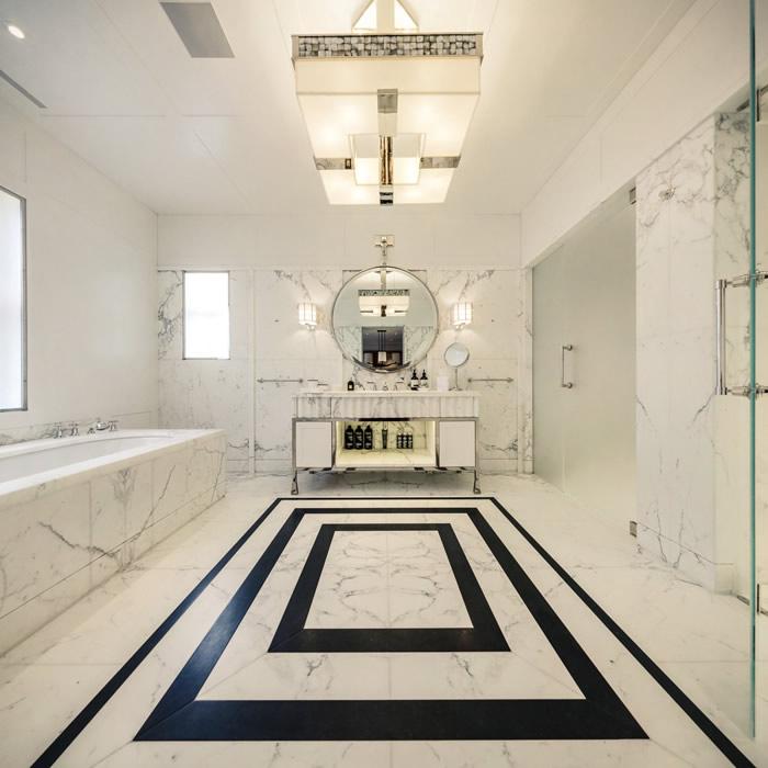 صور الرخام من افخم واروع الخامات التي يمكنك استخدامها في تصميم الحمام