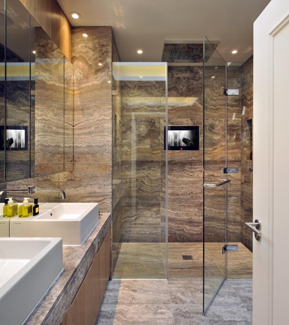 صور لمسة فنية ومظهر جذاب للحمام نقش حمام رخامي تحفه