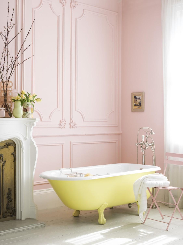 صور حمام غرفة نوم خاص يحمل الانوثه والرومانسية الفريدة
