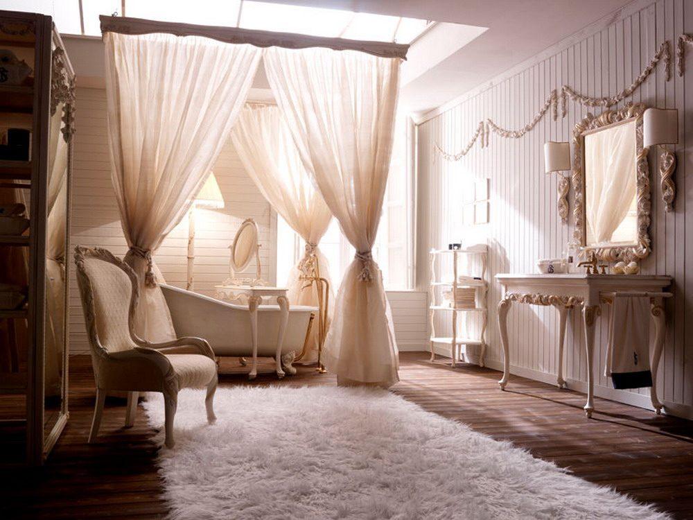 صورة حمام قصر ملكي فخم جدا كانه غرفة نوم