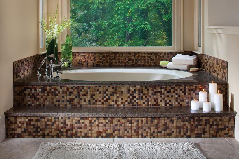 بالصور حمامات الموزاييك فخامة وروعة خامات تجعل الحمام تحفة فنية 33711 12