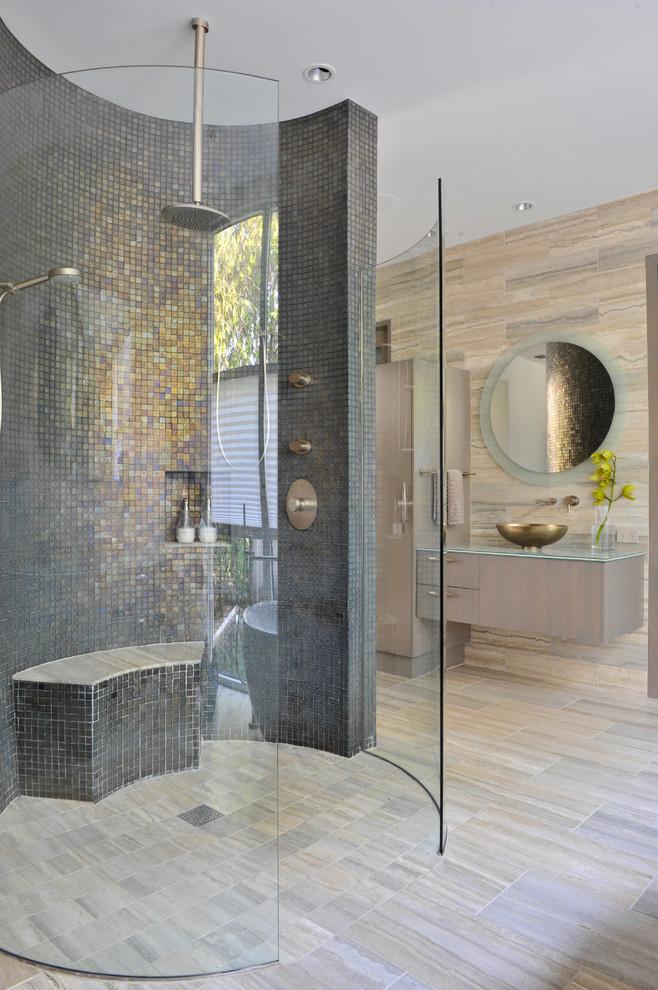 بالصور حمامات الموزاييك فخامة وروعة خامات تجعل الحمام تحفة فنية 33711 13