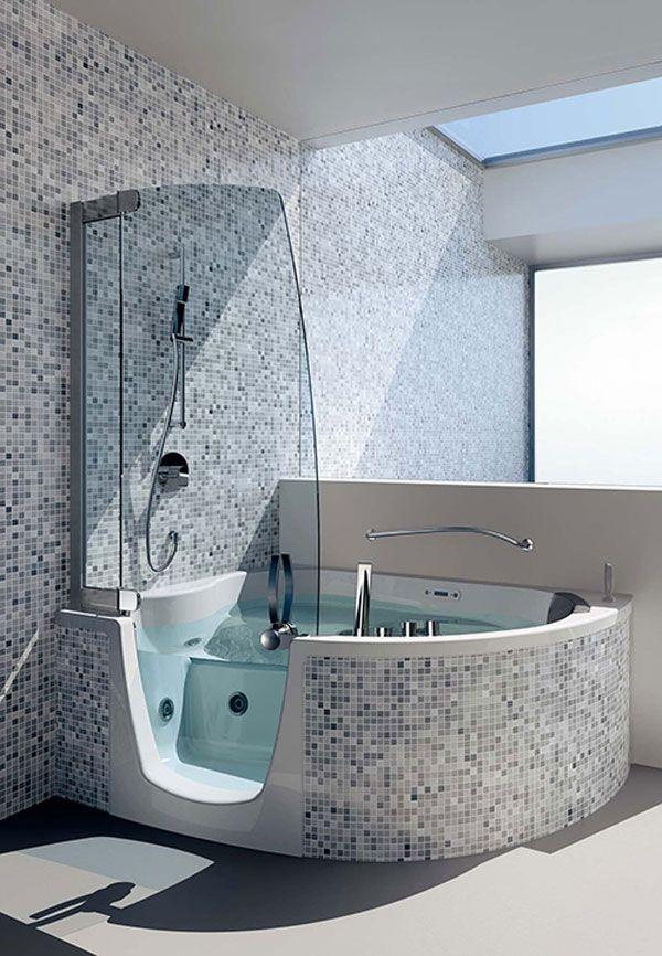 بالصور حمامات الموزاييك فخامة وروعة خامات تجعل الحمام تحفة فنية 33711 4