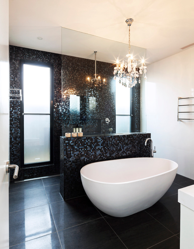 بالصور حمامات الموزاييك فخامة وروعة خامات تجعل الحمام تحفة فنية 33711 6