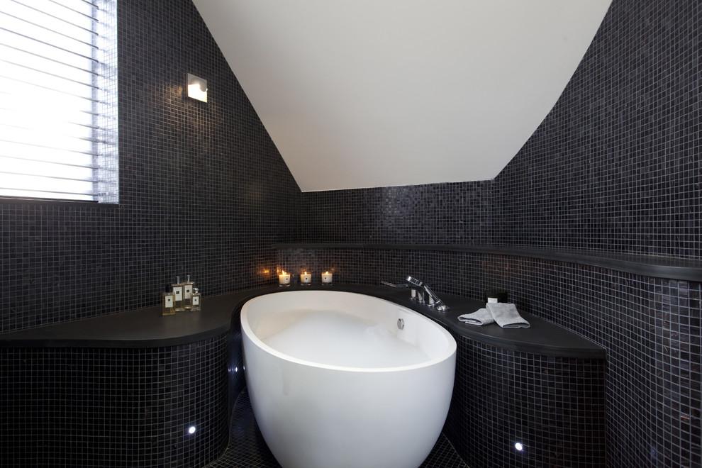 بالصور حمامات الموزاييك فخامة وروعة خامات تجعل الحمام تحفة فنية 33711 7