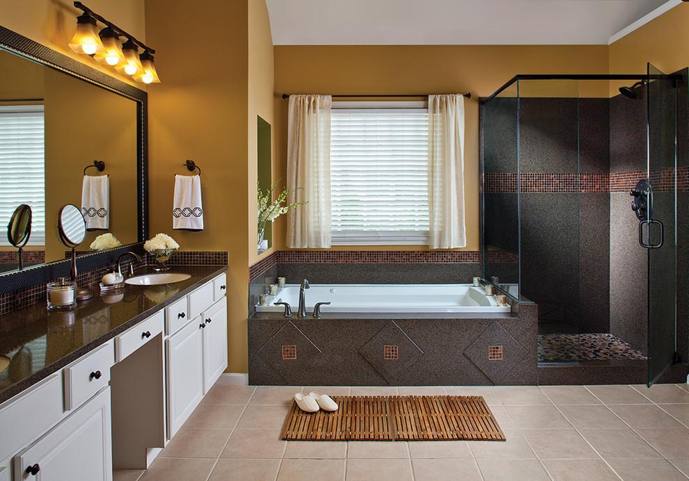 بالصور حمامات الموزاييك فخامة وروعة خامات تجعل الحمام تحفة فنية 33711 8
