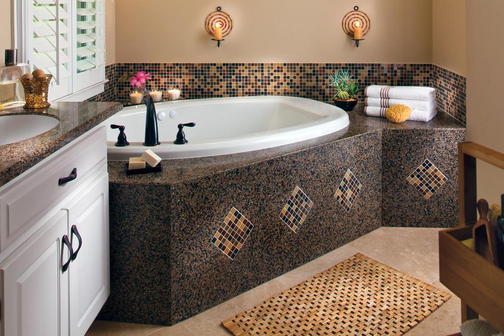 بالصور حمامات الموزاييك فخامة وروعة خامات تجعل الحمام تحفة فنية 33711 9