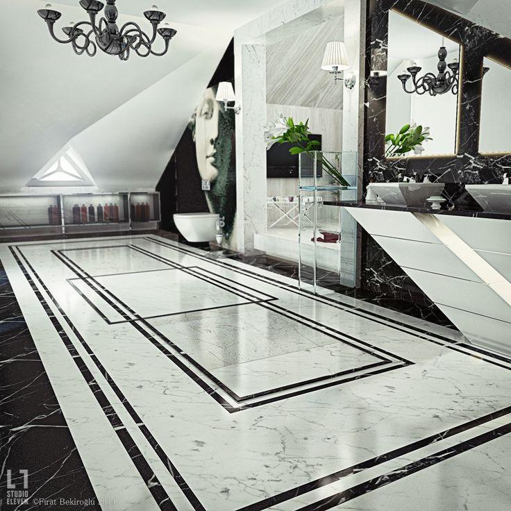 صورة افخم حمامات مستوحاه من الخيال بالوان ساحره