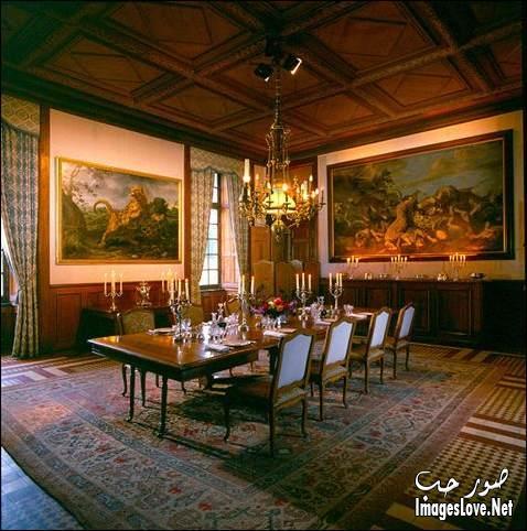صور اجمل ديكورات روعه غرف سفرة شيك ارقى مجموعه غرف سفرة