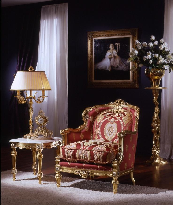 صور اثاث ذهبي ملكي