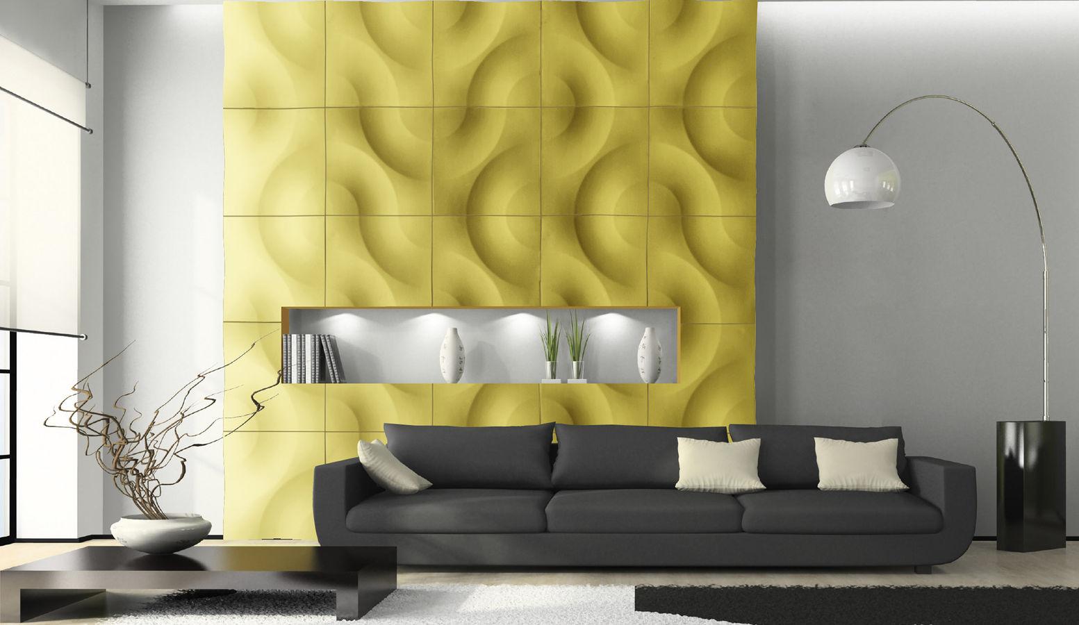 صورة ديكورات جدارية جبسية ديكورات جداريه