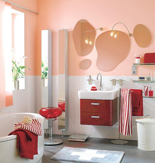 صور ديكورات حمامات صغيرة 2017