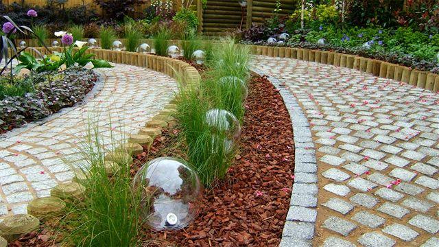 صورة تنسيق الحدائق المنزلية الصغيرة