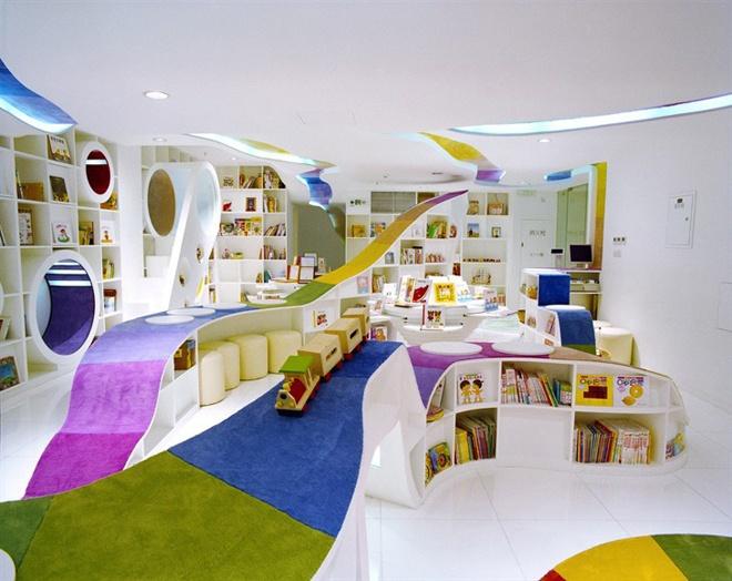 صور تصميم مكتبة للاطفال