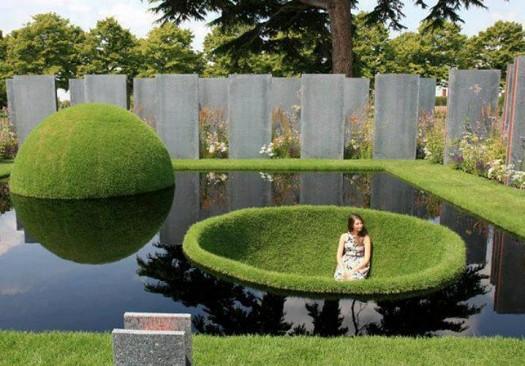 صورة ديكور حدائق رائع