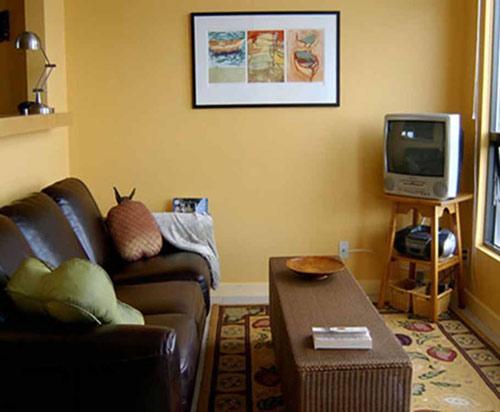 صورة ديكورات غرف معيشة صغيرة