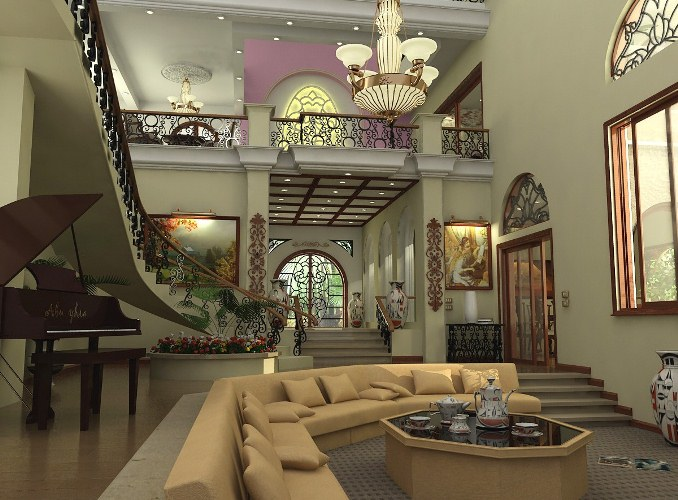 صورة ديكورات بيوت كويتيه