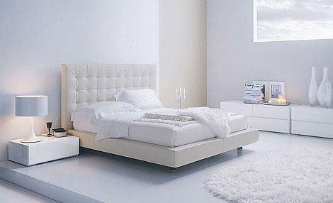 صور اثاث غرف نوم ابيض القطع البيضاء لغرفة النوم العصرية