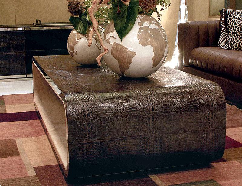 صورة طاولات جلد افضل طاولة جلدية للمنزل كلها فخامة