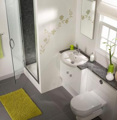 صور ديكورات حمامات بسيطة