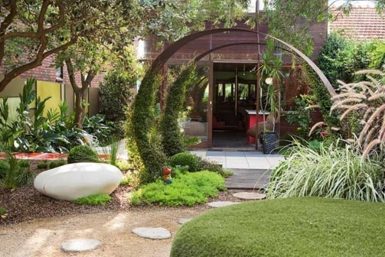 صورة حدائق منازل جميلة