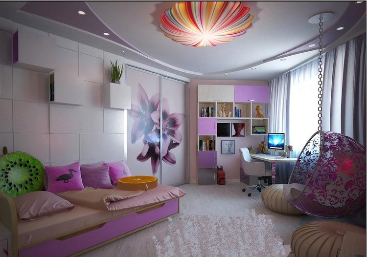 صورة جبس بورد غرف اطفال اشيك تشكيلة ديكورات مخصصه لغرف الاطفال