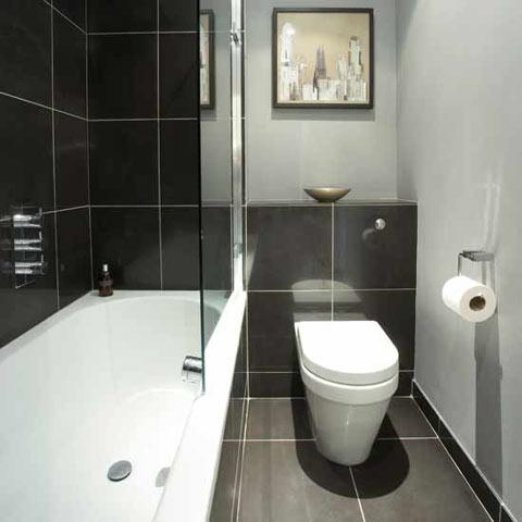 صورة سيراميك حمامات صغيرة الحجم