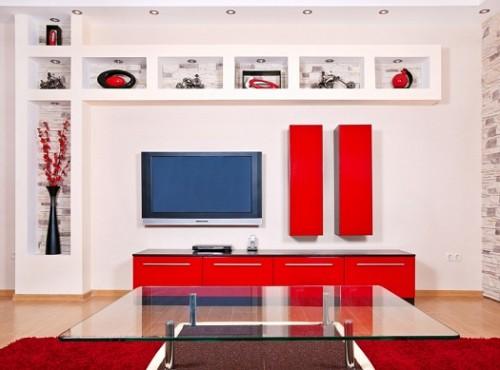 صور طاولات تلفزيون بالجبس