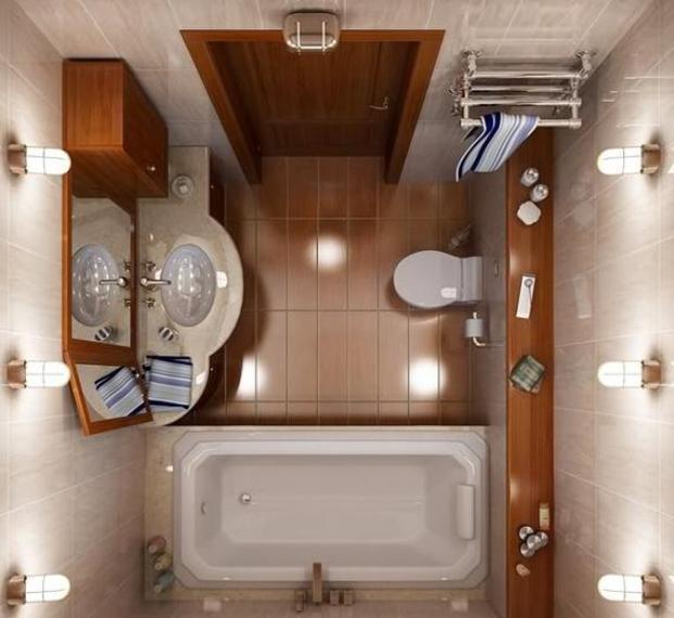 صور ديكور حمام صغير