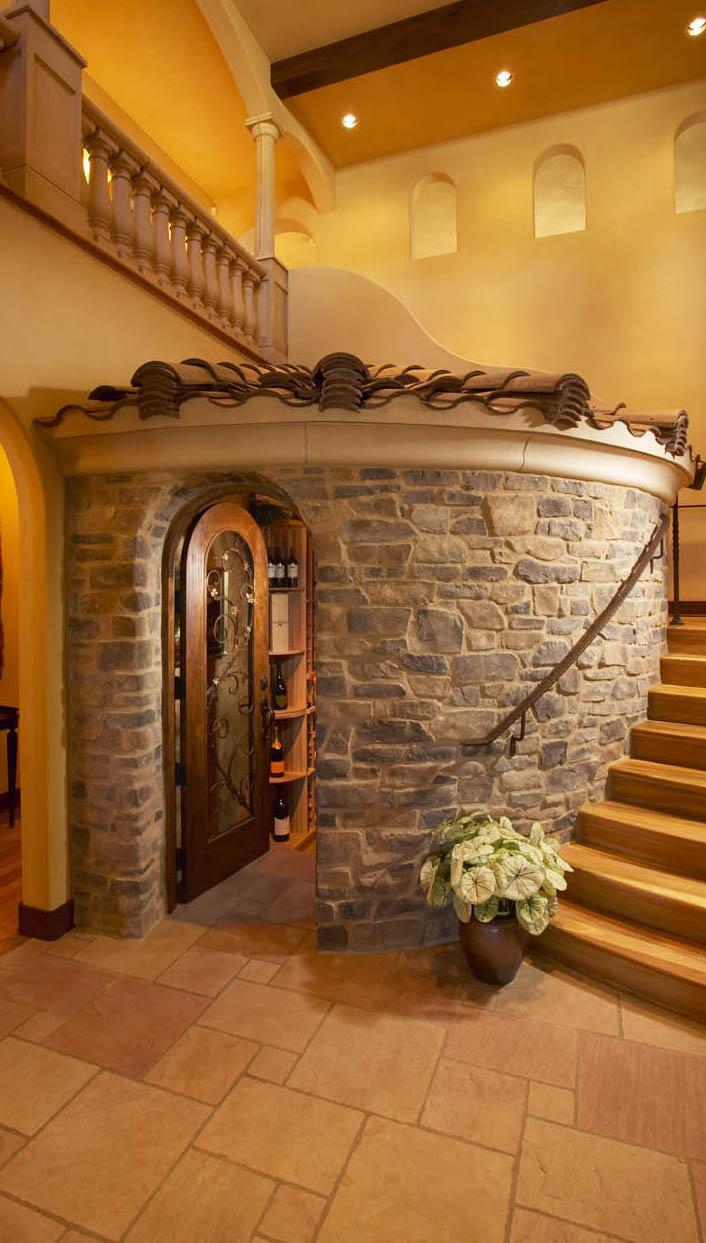 صور ديكورات حجريه داخل البيت