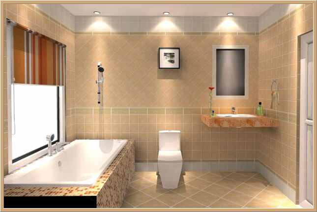 صور اسقف جبس حمامات