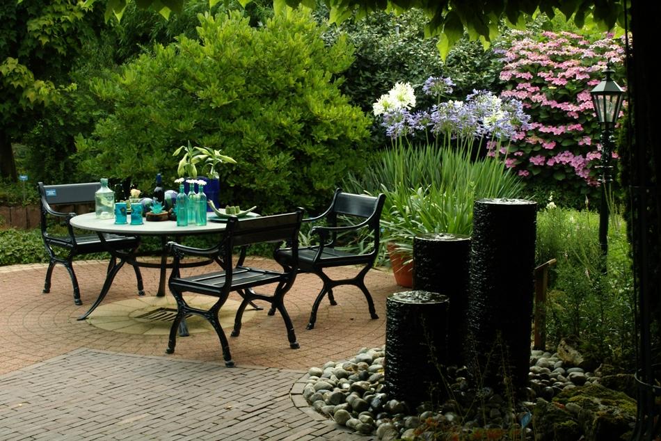 صورة تصميم حديقة منزل