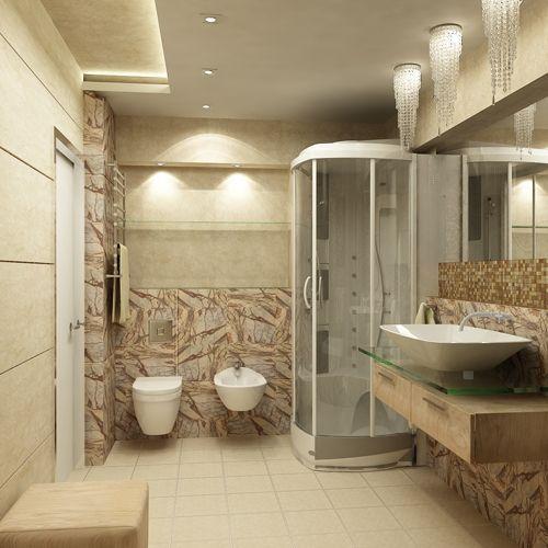 صورة ديكورات حمامات جبس